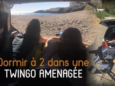 """Twingo """"roadtrip"""" : découverte du plus petit Van du monde"""