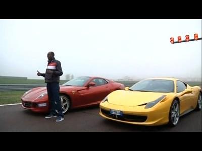 Usain Bolt teste quelques Ferrari