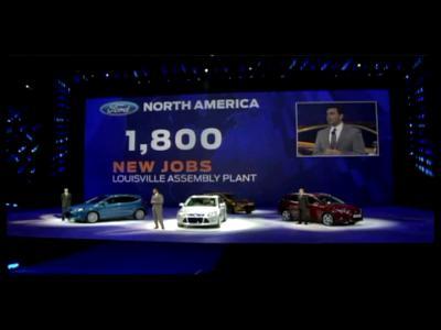 Détroit 2011 : le futur hybride et électrique de Ford