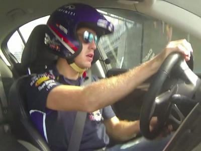 Sebastian Vettel sur le circuit de Sotchi pour la première fois