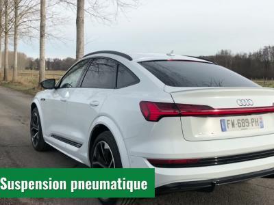 Essai nouvel Audi e-tron Sportback Extended : 1er contact
