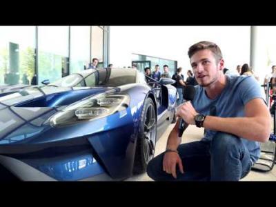 La nouvelle Ford GT retourne à l'école (d'ingénieurs)