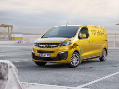 Opel Vivaro-e : l'utilitaire passe à l'électrique en 2020