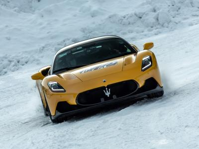Maserati MC20 : la supercar testée en condition hivernale