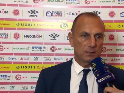 """Montpellier - Der Zakarian : """"Reims meilleur dans tous les compartiments"""""""