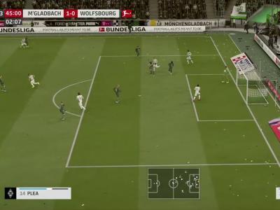 Borussia M'Gladbach - Vfl Wolfsburg sur FIFA 20 : résumé et buts (Bundesliga - 32e journée)