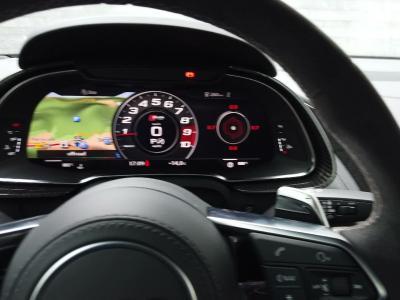 Audi R8 restylée : présentation en vidéo