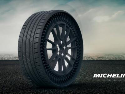 Uptis : le pneu sans air par Michelin