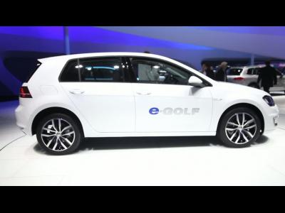 Francfort 2013 - Volkswagen e-Golf