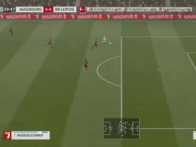 FC Augsbourg - RB Leipzig sur FIFA 20 : résumé et buts (Bundesliga - 34e journée)