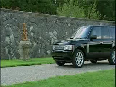 Range Rover 2008 Supercharged model