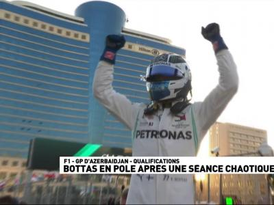 Formule 1 : Grand Prix d'Azerbaïdjan - le résumé des qualifications