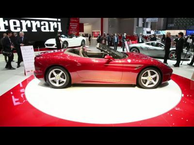 Genève 2014 : Ferrari California T
