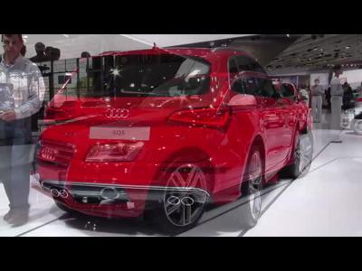 Audi Q5 restylé - Mondial 2012