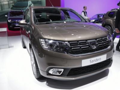 Mondial 2016 : Dacia Sandero restylée
