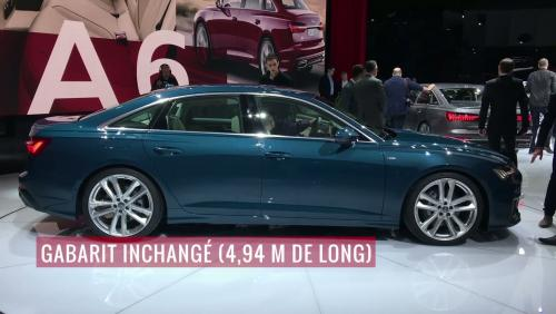 L'Audi A6 en vidéo depuis le salon de Genève 2018