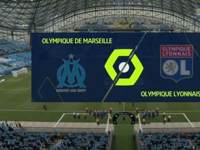 OM - OL : notre simulation FIFA 21 (27ème journée de Ligue 1)