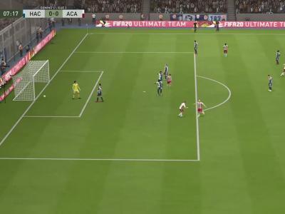 Le Havre FC - AC Ajaccio sur FIFA 20 : résumé et buts (L2 - 38e journée)