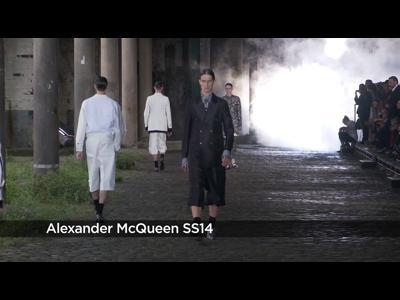 Défilé Alexander McQueen PE 2014