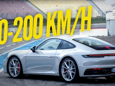 Porsche 911 992 Carrera S : le 0 à 200 km/h en 10 secondes !