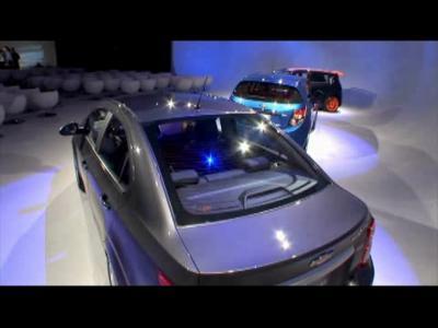 Détroit 2011 : Chevrolet Sonic Sedan