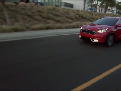 Kia Niro: le crossover hybride se dévoile à Chicago