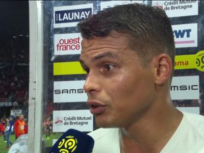 La réaction de Thiago Silva après Rennes / PSG