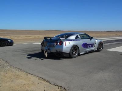 Sortie de piste à  de 350 km/h