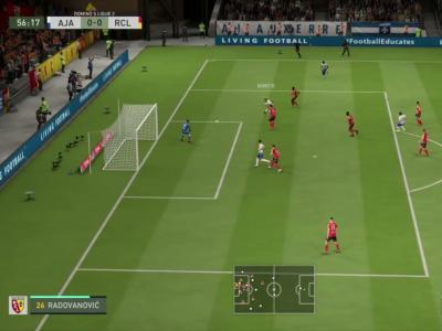 AJ Auxerre - RC Lens sur FIFA 20 : résumé et buts (L2 - 29e journée)