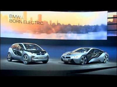 BMW Concept i3 et i8