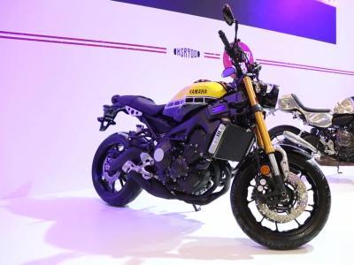 Yamaha XSR900 | Salon de la Moto 2015