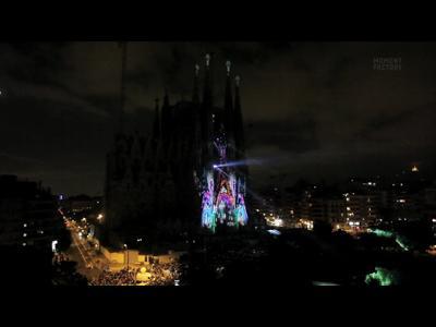 Des couleurs plein la Sagrada Familia