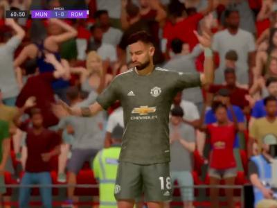 Manchester United - AS Roma : notre simulation FIFA 21 (demi-finale aller de Ligue Europa)
