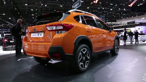 Genève 2017 : Subaru XV