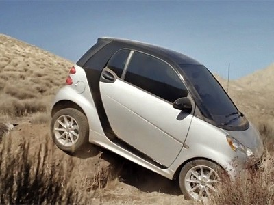 La Smart ForTwo en off-road