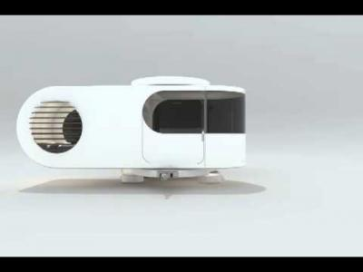 Romotow : la caravane modulable en vidéo