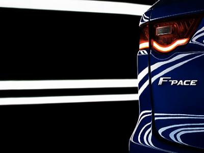 Jaguar diffuse la première image officielle de son futur crossover F-Pace