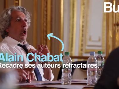 Réunion de rentrée pour Alain Chabat et Burger Quiz