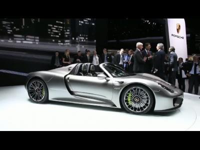 Francfort 2013 - Porsche 918 Spyder