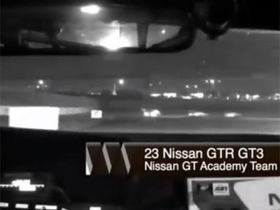 Suivez en caméra embarquée la première course du vainqueur français de la GT Academy