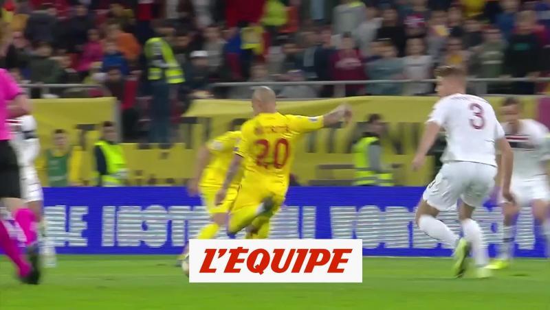 Tous les buts de Roumanie-Norvège - Foot - Qualif. Euro