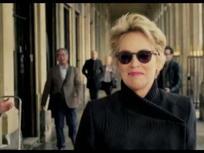 Sharon Stone et Afflelou