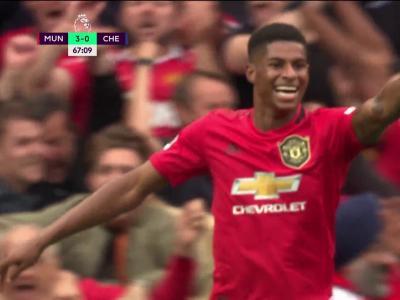 Manchester United - Chelsea : le doublé pour Marcus Rashford
