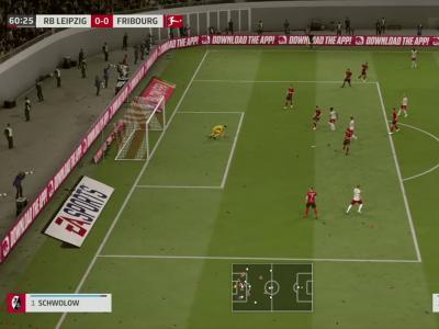 Leipzig - Fribourg sur FIFA 20 : résumé et buts (Bundesliga - 26e journée)