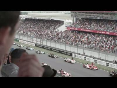 Porsche félicite Audi pour sa victoire au Mans en vidéo