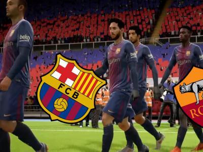 Simulation de Barça - Roma : Les Catalans s'inclinent à domicile (0-1)