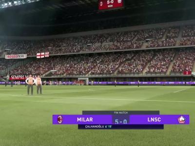 AC Milan - LOSC : notre simulation FIFA 21 (3ème journée - Europa League)