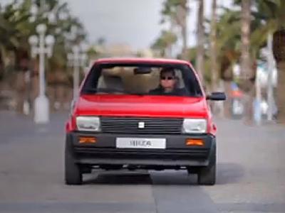 Nouvelle vidéo pour les 30 ans de la Seat Ibiza