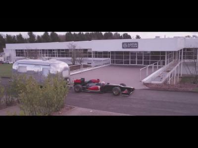 Romain Grosjean rentre de vacances en Lotus