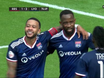 Le doublé pour Moussa Dembélé !